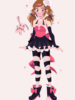 Naomi (Magical Girl Self-Insert)