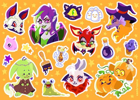 Halloween Virtual Pets