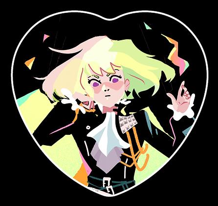 Big Boss Heart Button