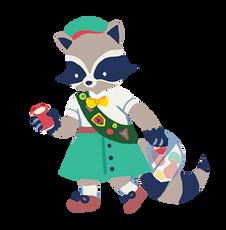 Rowan the Raccoon