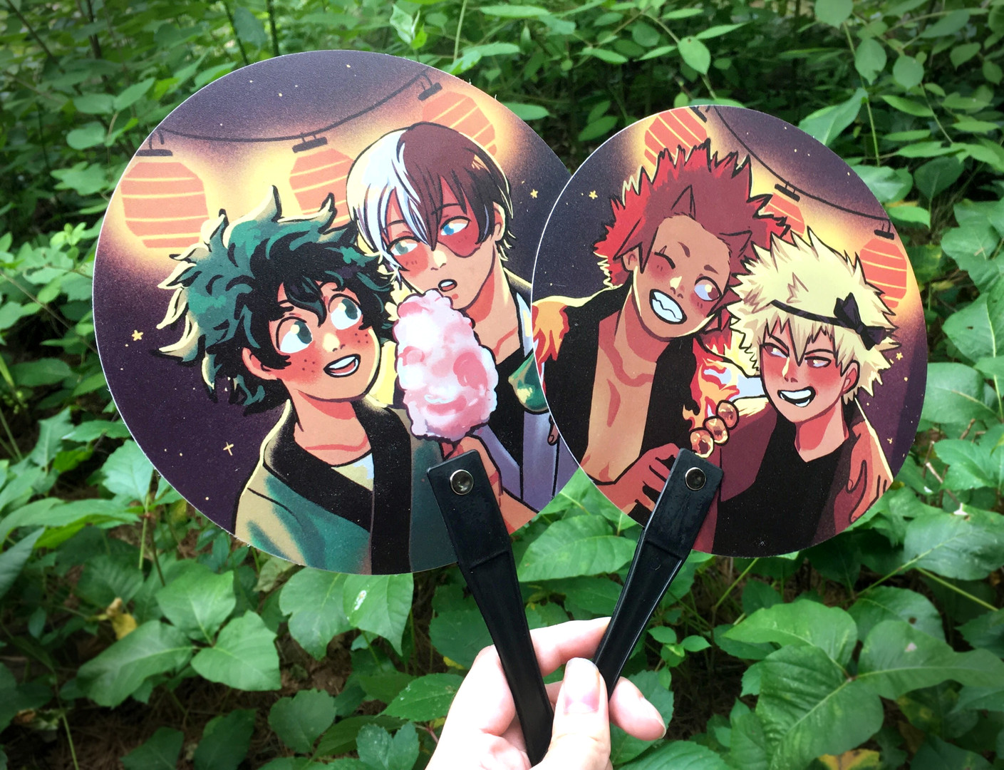 Matsuri Hand Fan