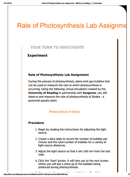 sbi4u photosynthesis lab gizmo