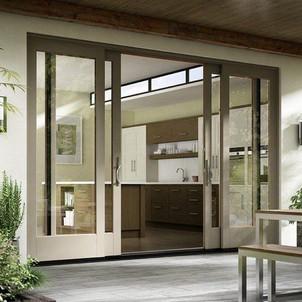Contemporary Patio Doors
