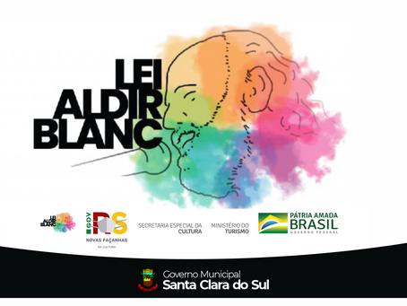 DUAS ENTIDADES SÃO CONTEMPLADAS PELA LEI ALDIR BLANC