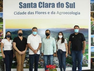 COMITIVA DE GENERAL CÂMARA VISITA O MUNICÍPIO
