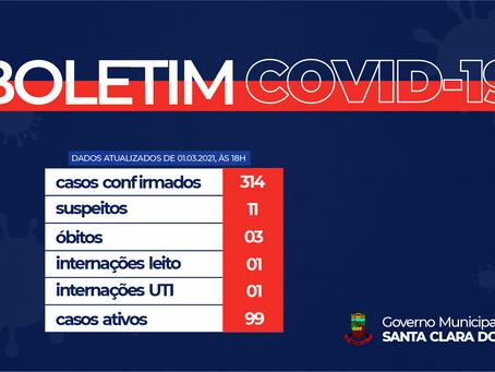 FIQUE ATENTO AO BOLETIM COVID-19