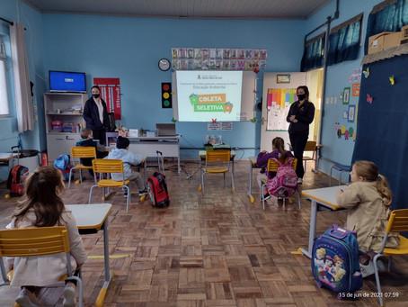 Santa Clara do Sul realiza ação especial de educação ambiental nas escolas