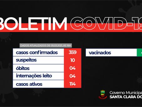 ATENÇÃO AO BOLETIM COVID-19!