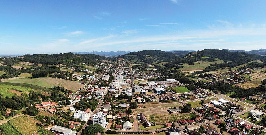 Foto panorâmica do município