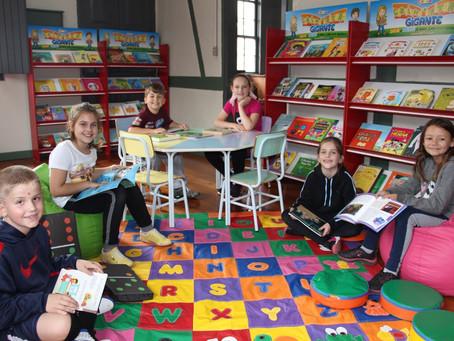 Biblioteca convida comunidade para sábado especial com novo Espaço Kids e acervo ampliado