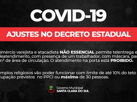 ESTADO ANUNCIA AJUSTES NOS PROTOCOLOS DE BANDEIRA PRETA