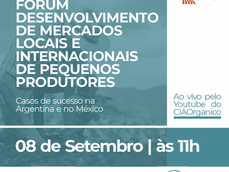 Santa Clara participa de Fórum Internacional sobre comercialização de orgânicos