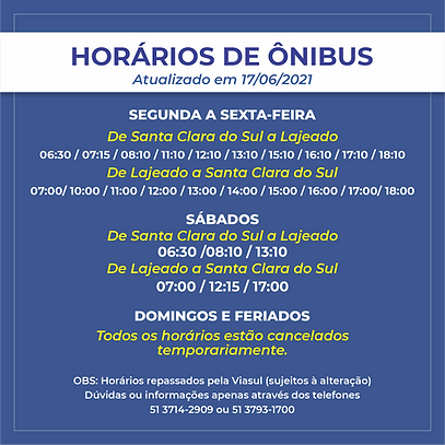horario de onibus