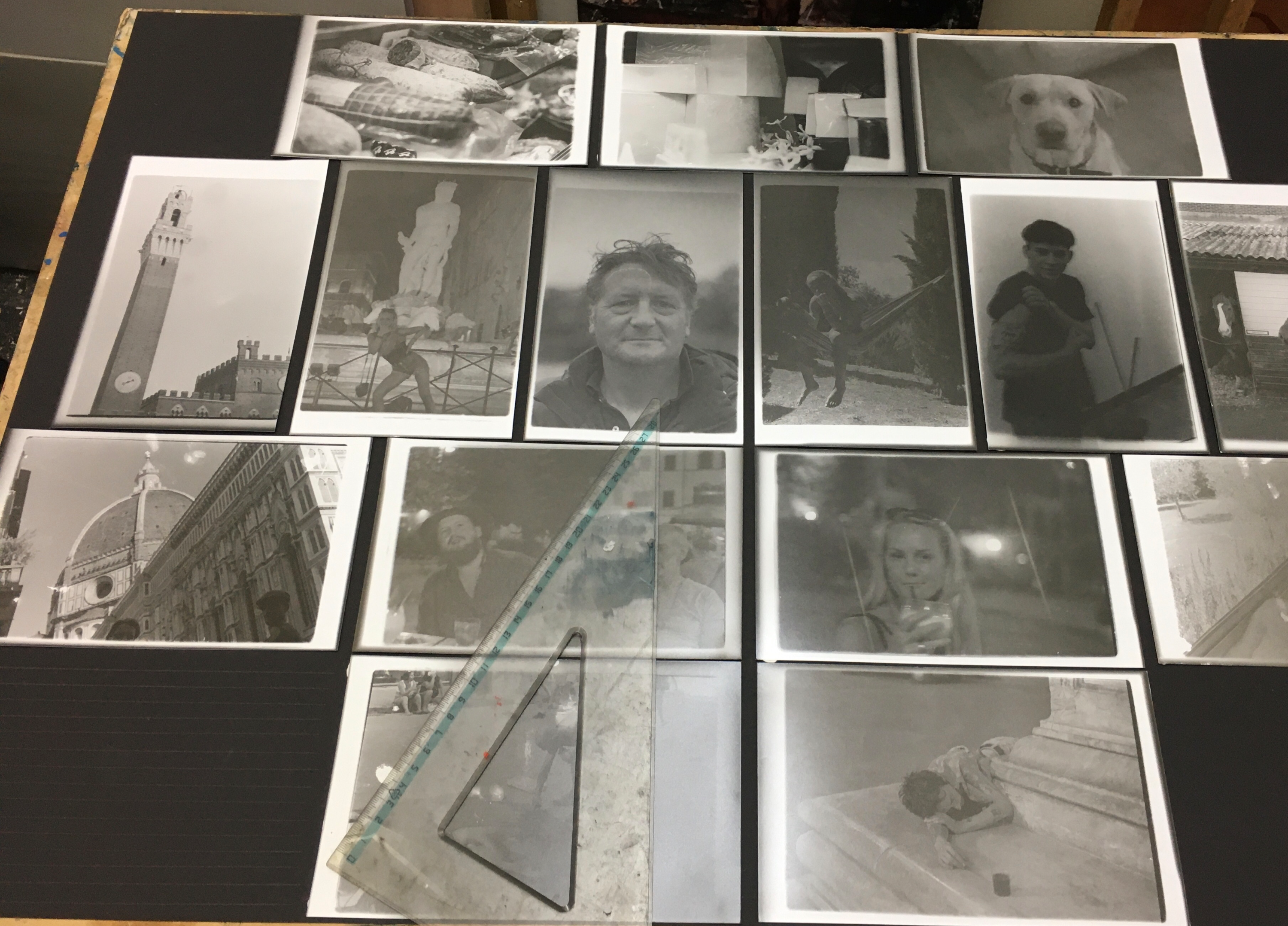 Monochrome Photo Album