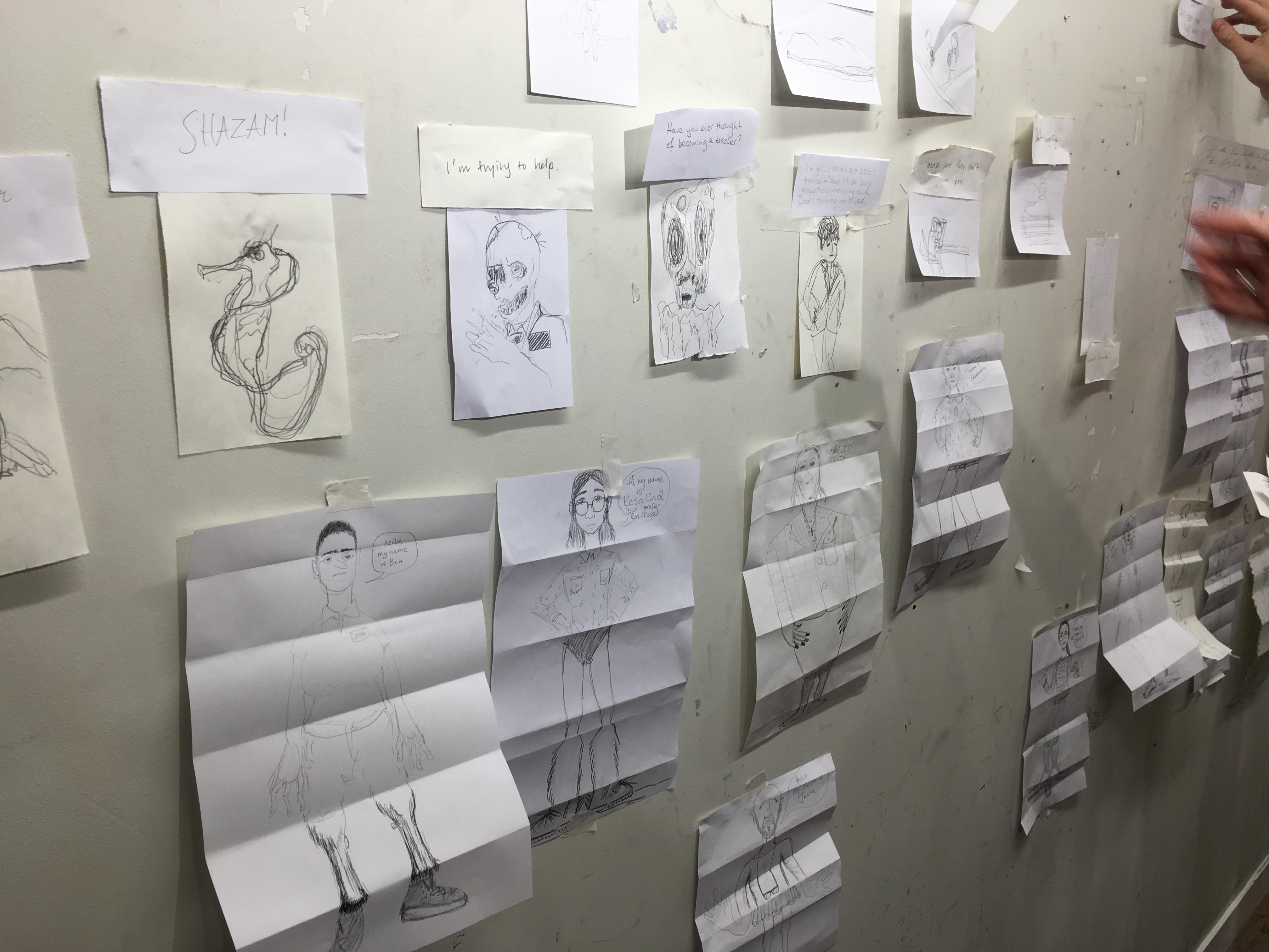 Wall of Posters (Week 1)