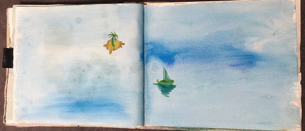 Sketchbook Outro Page - A3 Cotton