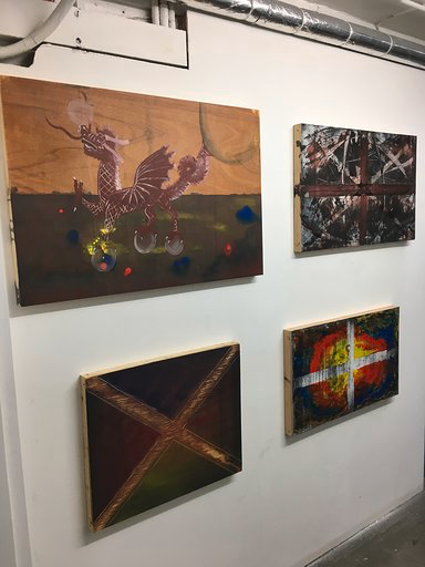 Corridor Show - Image/wall 1