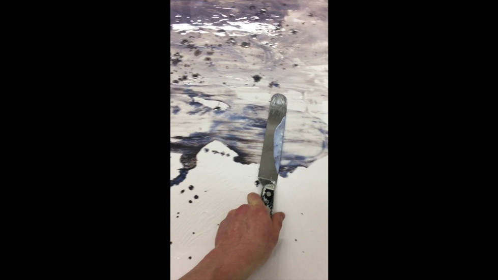PLAY VIDEO- Experimenting With Pouring Medium