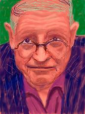 Hockney's Self Portrait