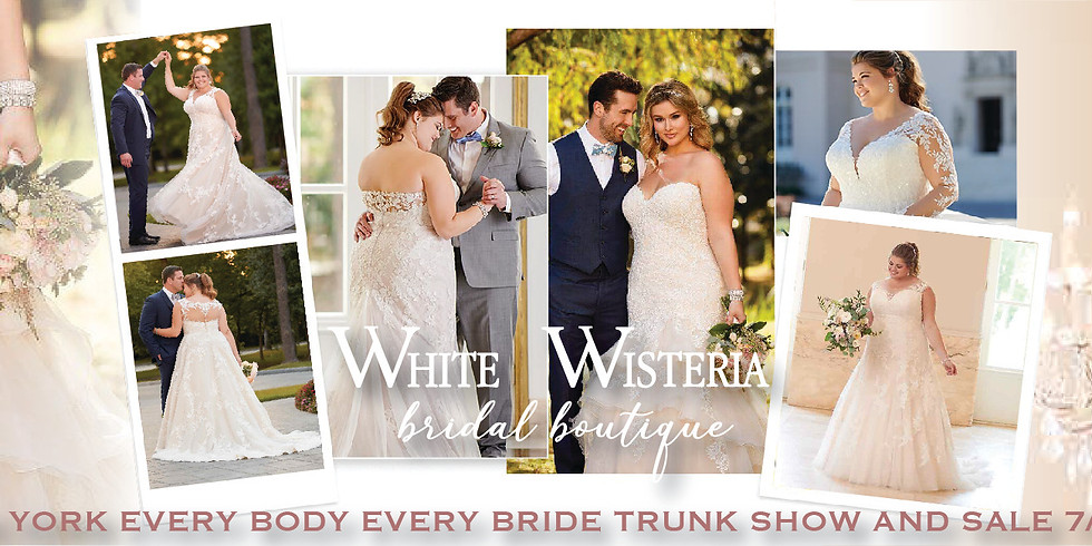 Stella York Every Body Every Bride Plus Size Trunk Show and Sale!
