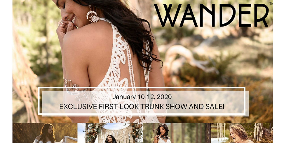All Who Wander Premier Trunk Show