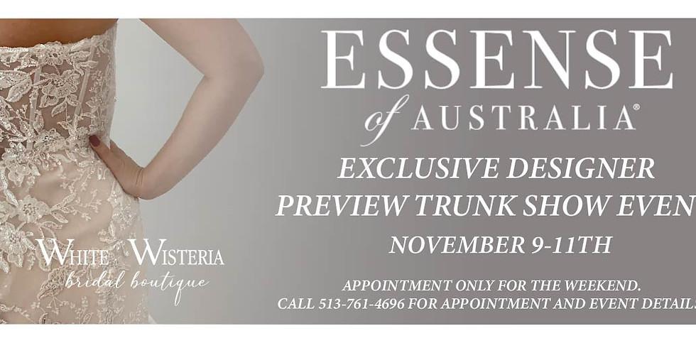 Essense of Australia Exclusive Preview Trunk Show Event