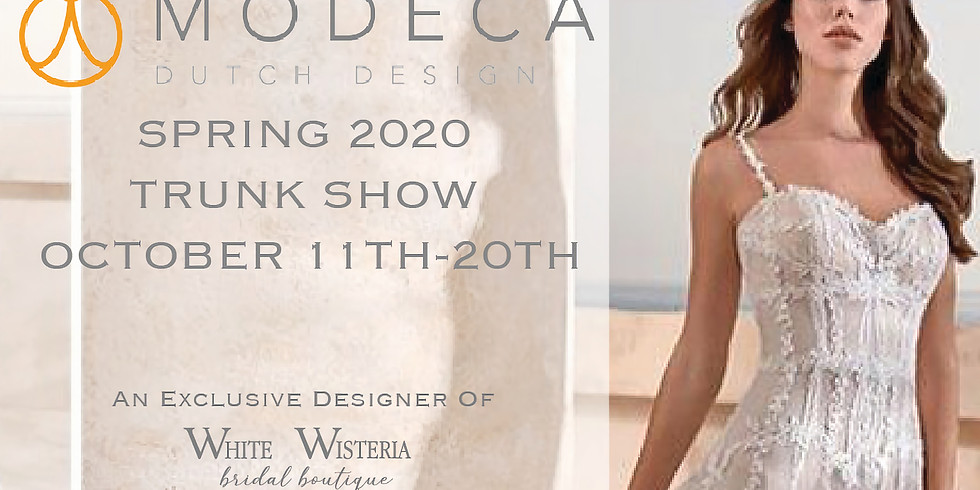 Modeca and Le Papillon 2020 Trunk Show and Sale!