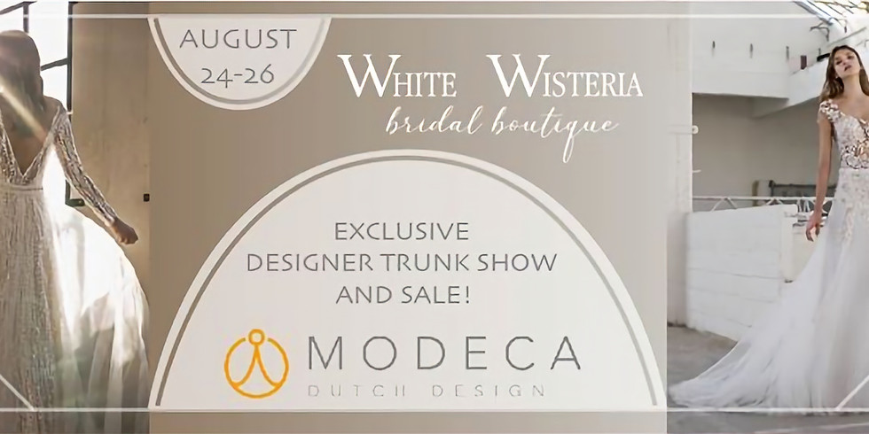 Exclusive Designer Modeca Trunk Show and Sale!