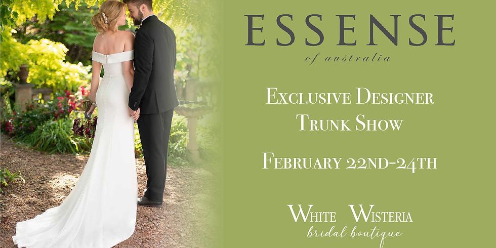 Essense of Australia Exclusive Designer Trunk Show!