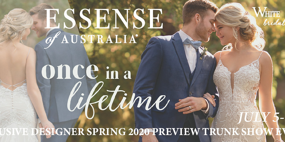 Exclusive Essense of Australia Spring 2020 Preview Trunk Show