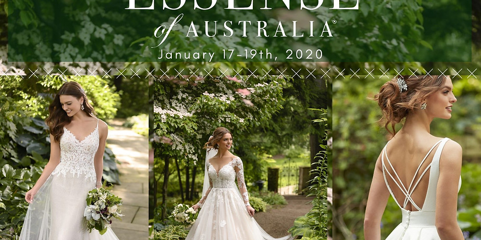 Essense of Australia Trunk Show and Sale!