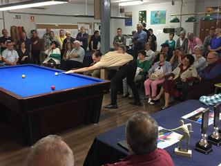FINALIZA EL XIX RANKING DE BILLAR TRES BANDAS VILLA DE MOSTOLES