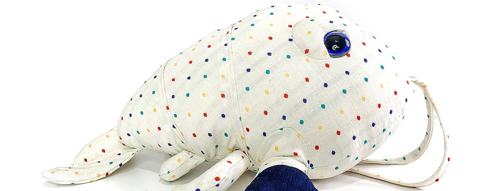 Polka Baby Lobster Plush