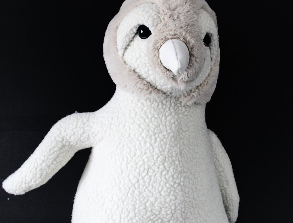White Emperor Baby Penguin
