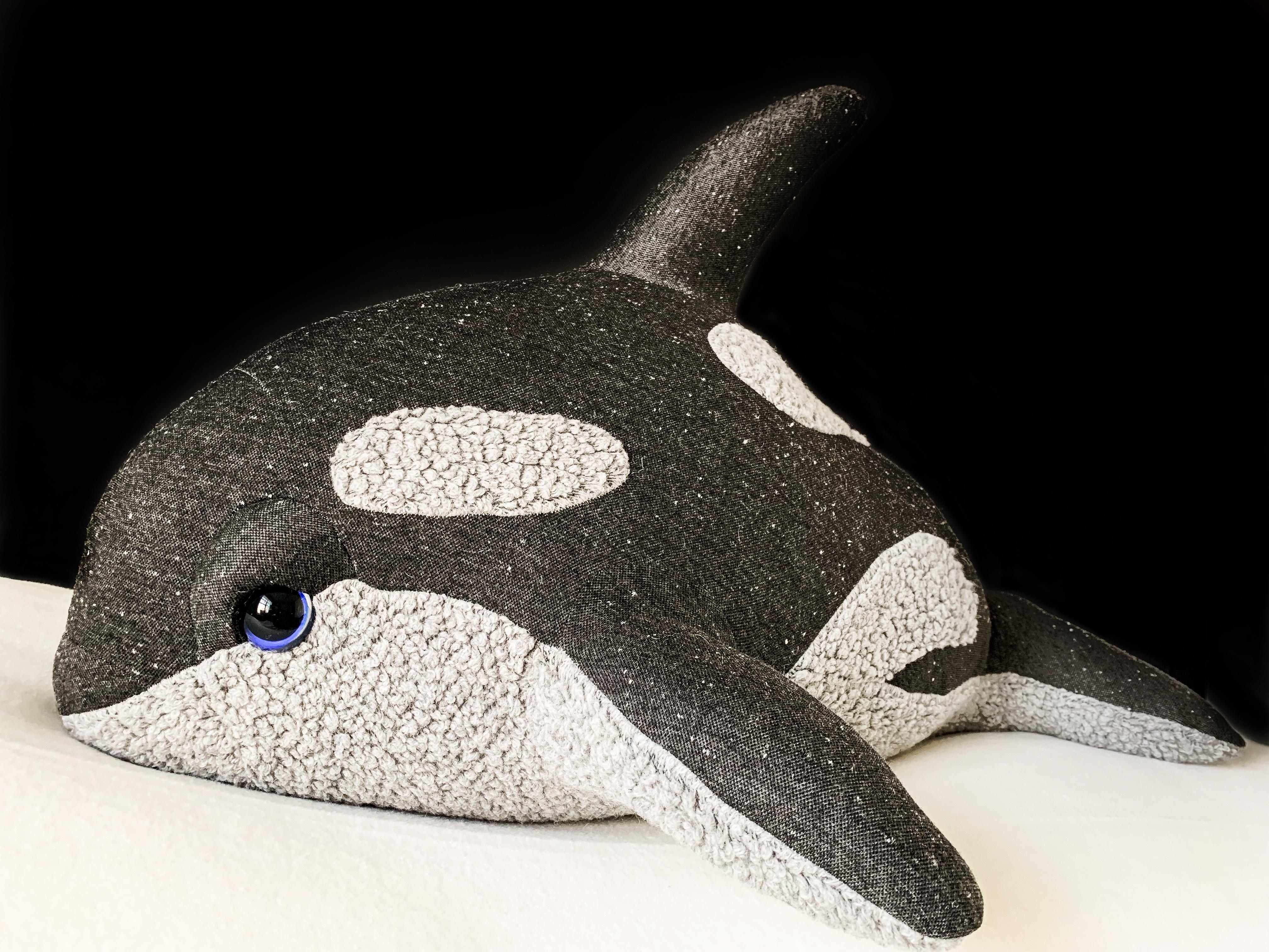Gray Baby Orca