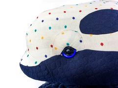 Adorable Killer Whale Plushie - Stuffed Animal for Nursery Room Decor