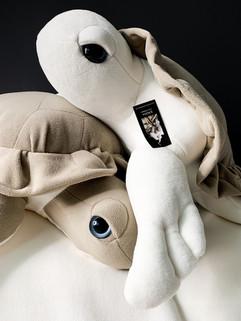 Jumbo Sea Turtle Plush - Handmade Stuffed Animals