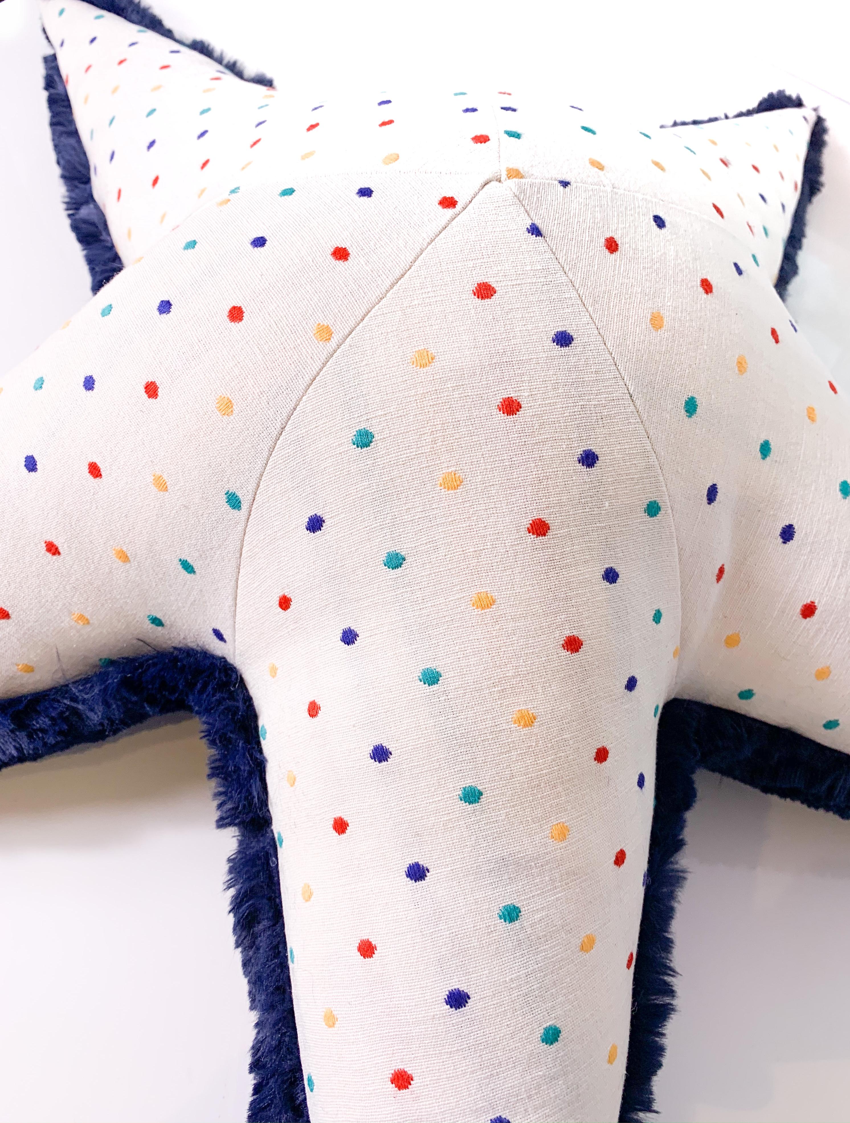 Polka Starfish Plush