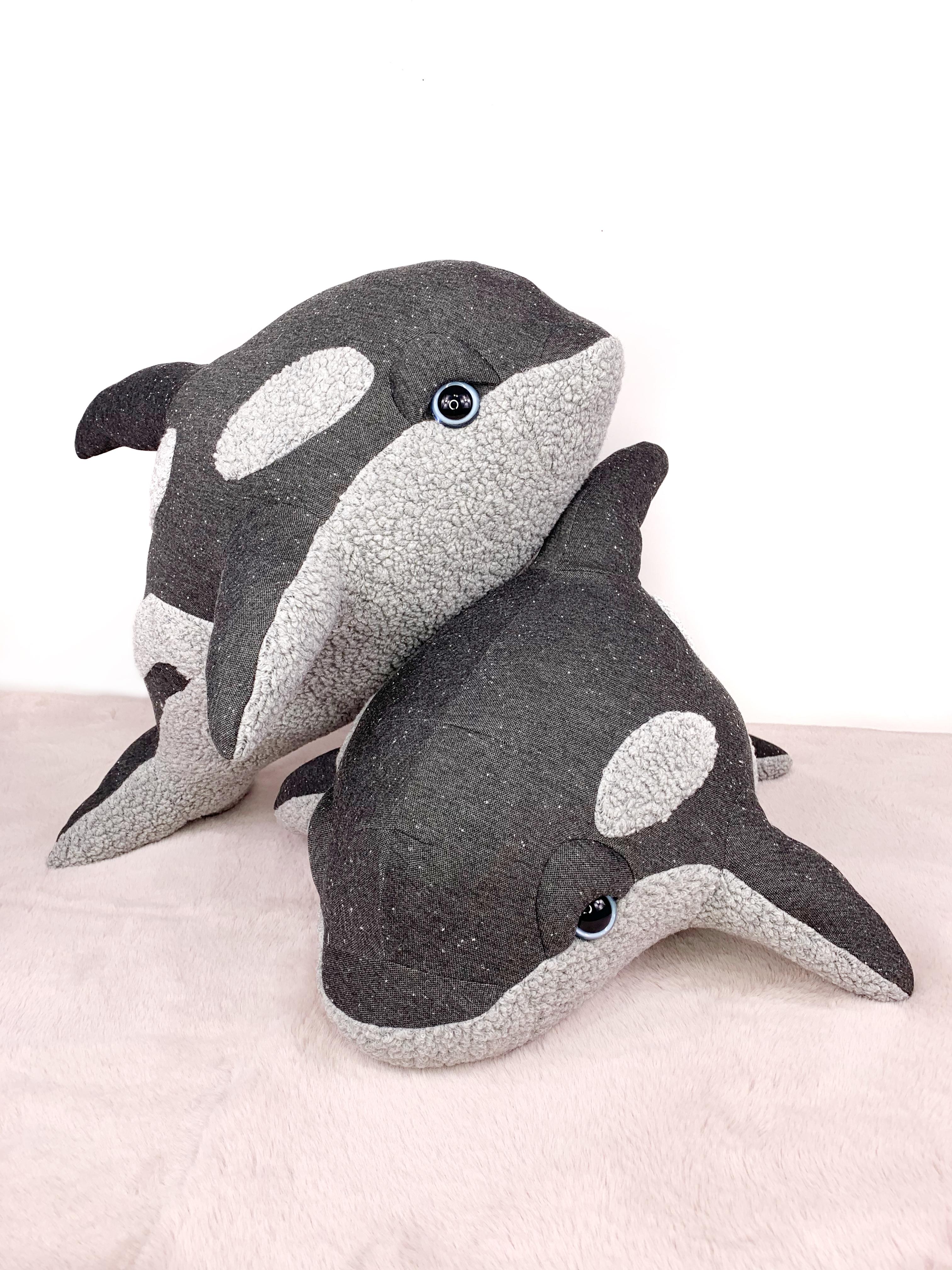 Georgia Baby Orca Plush