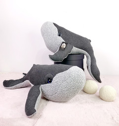 Humpback Baby Whale Plush