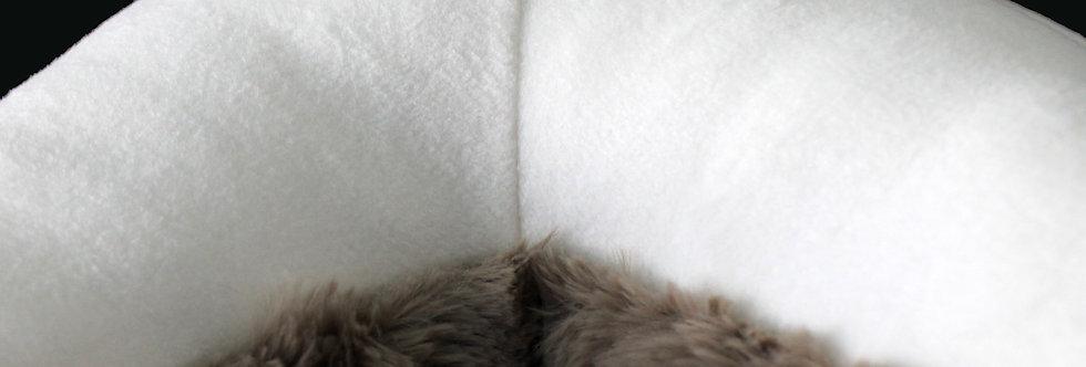 White Starfish Pillow - Handmade Sea Star Plush