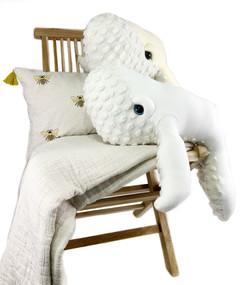 Handmade Baby Stuffed Whale