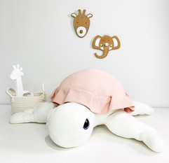Sea Stuffed Turtle Hand Craft - Cute Baby First Plush