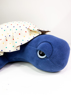 Dots Sea Turtle Plush - Giant Turtle Kids Room Decor