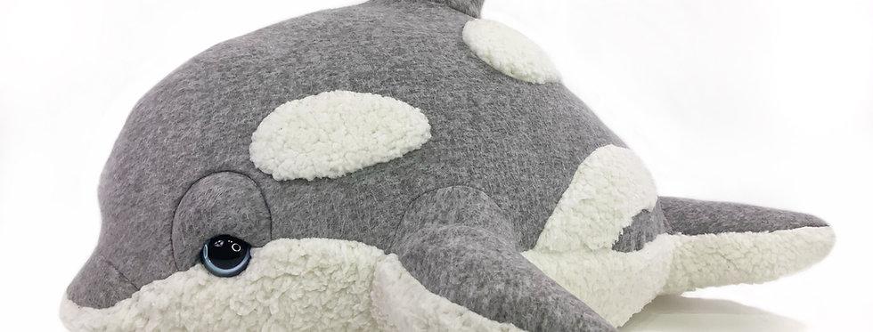 Handmade Killer Whale Plush - Hazel Baby Orca