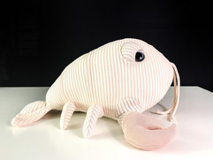 Pink Baby Lobster Plushie Toy