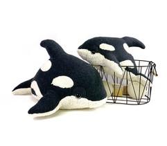 Handmade Killer Whale Plush