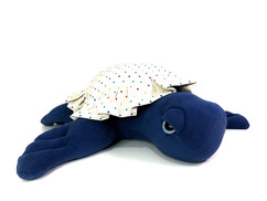 Large Sea Turtle - Handmade Baby First Plush
