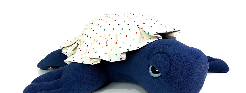 Sea Turtle Plush - Polka Stuffed Animal