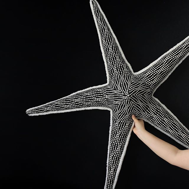 Skinny starfish black and white #interiordesign #decoration #livingroom #homedecor #housedecor
